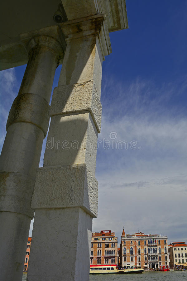 Punta della Dogana fotografering för bildbyråer