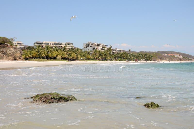 Punta Mita Beach stockbild