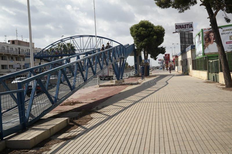 Punta Prima w Hiszpania obrazy royalty free