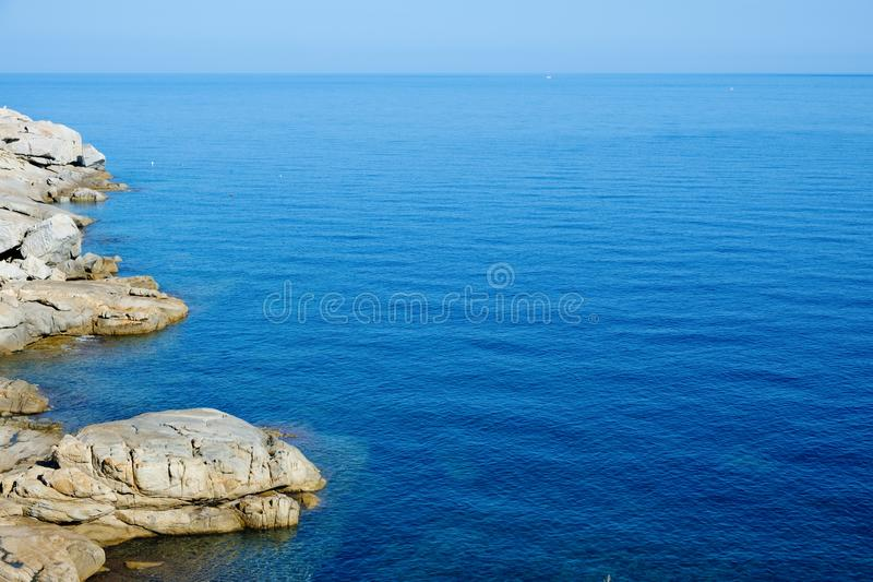 Punta San Francesco i Calvi, Frankrike royaltyfria bilder
