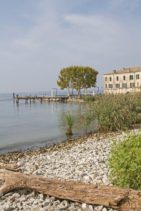 Punta San Vigilio przy jeziornym Gardą zdjęcie stock