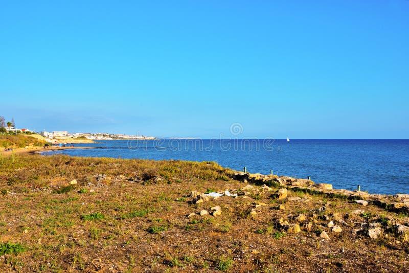 Punta Secca Italië royalty-vrije stock afbeeldingen