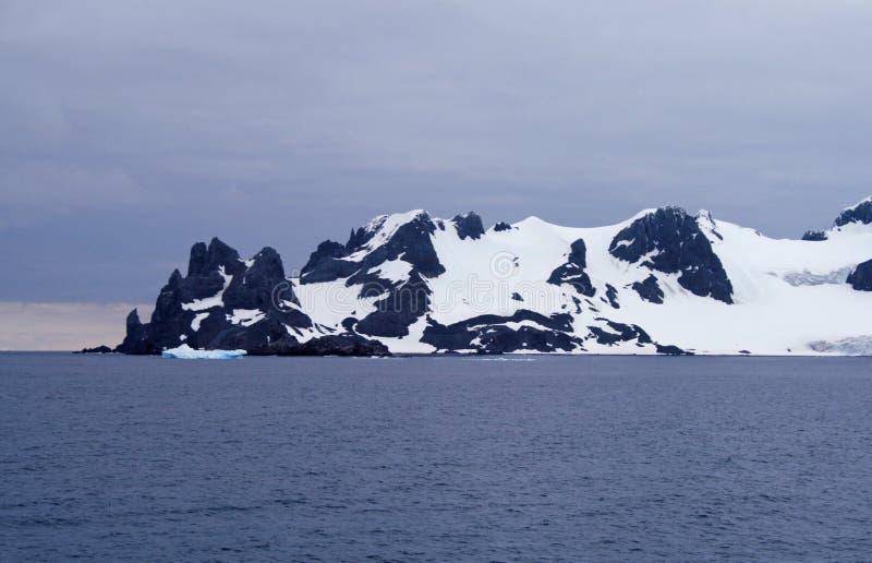 Punta Shetland del sur 5 de Hannah imagen de archivo