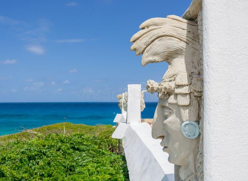Punta Sur chez Isla Mujeres, Yucatan image stock