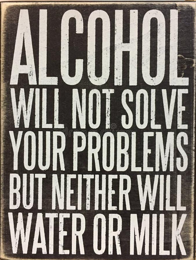 Punte circa alcool immagini stock libere da diritti