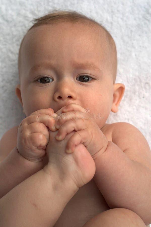 Punte del bambino fotografie stock libere da diritti