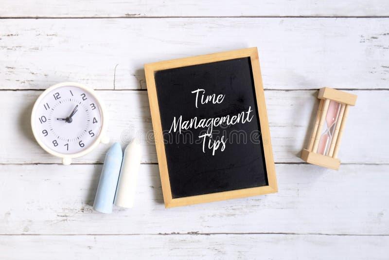 Punte della gestione di tempo fotografia stock