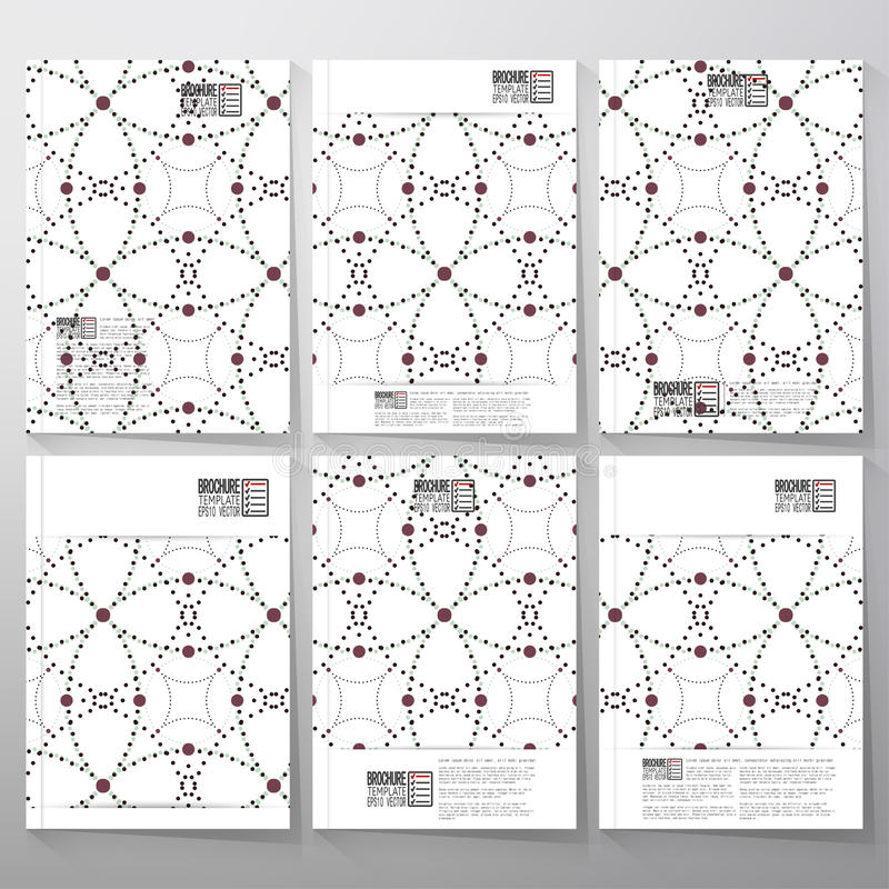 Punteado repitiendo geométrico elegante moderno libre illustration