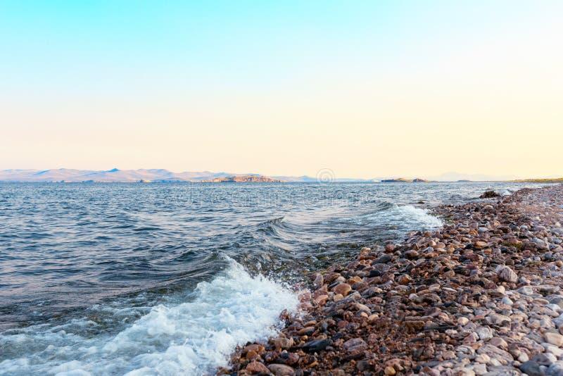 Puntello del lago Baikal fotografia stock libera da diritti
