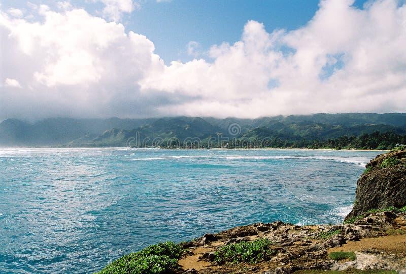 Puntello del nord Oahu fotografia stock libera da diritti