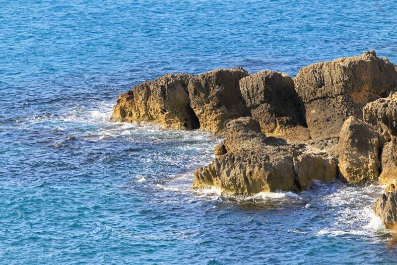 Puntello roccioso fotografie stock libere da diritti