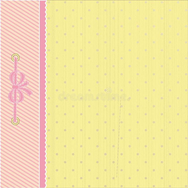 Punten en strepenachtergrond royalty-vrije stock afbeeldingen