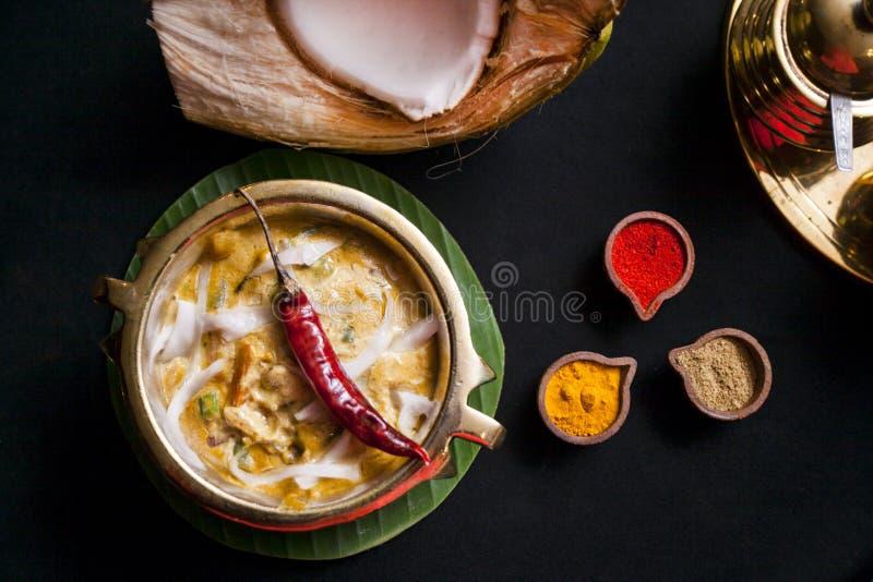 Punten van het zuiden de Indische voedsel stock afbeelding