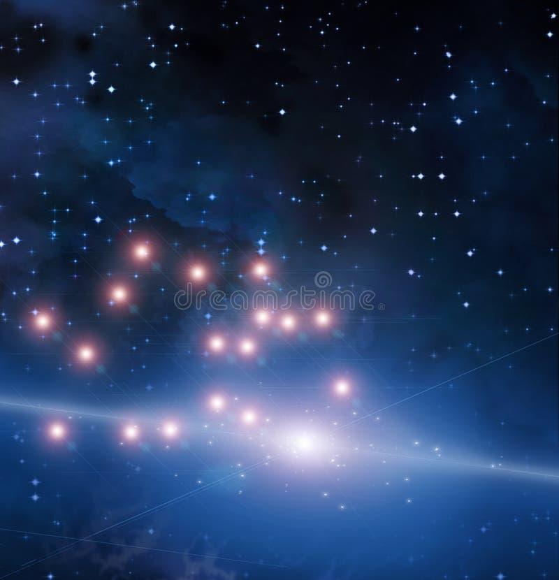 Punten van Licht stock illustratie