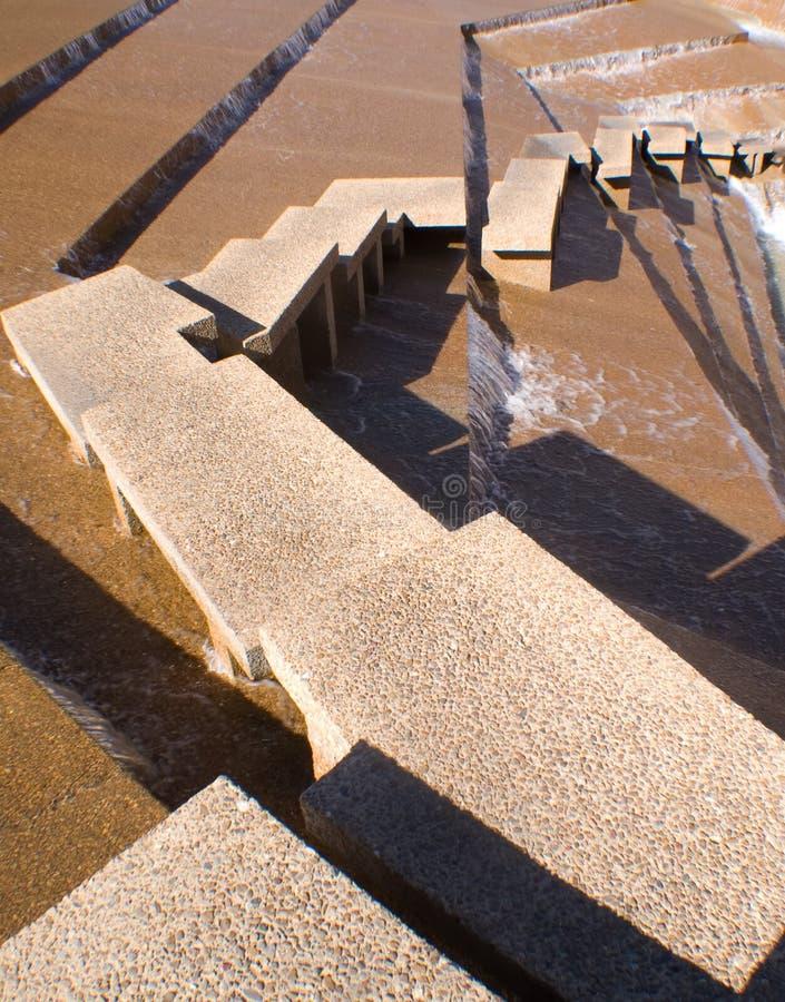 Punti del giardino dell'acqua (estratto) immagini stock libere da diritti