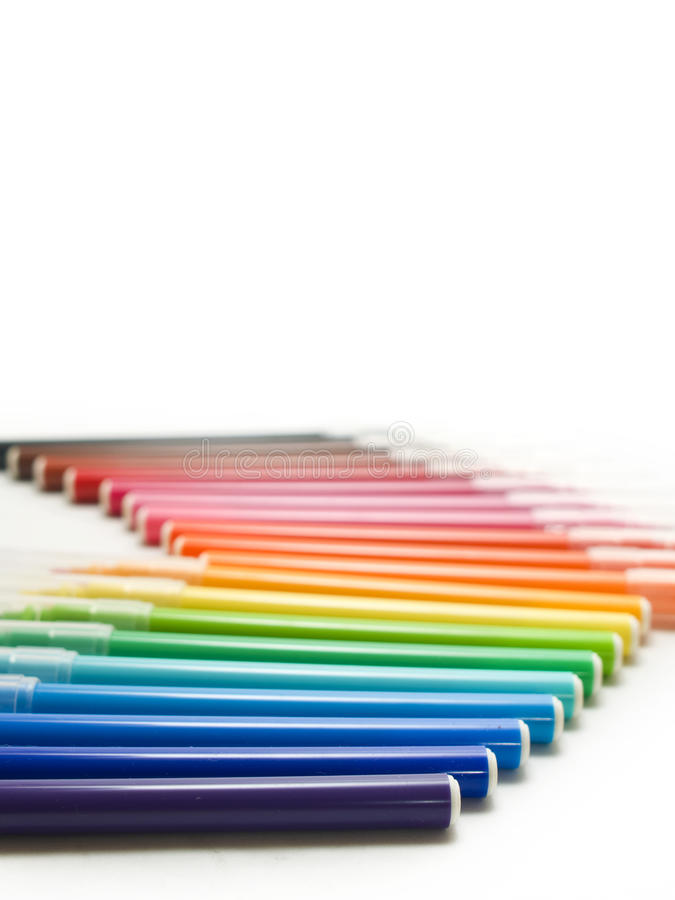 Punti del Rainbow immagine stock libera da diritti