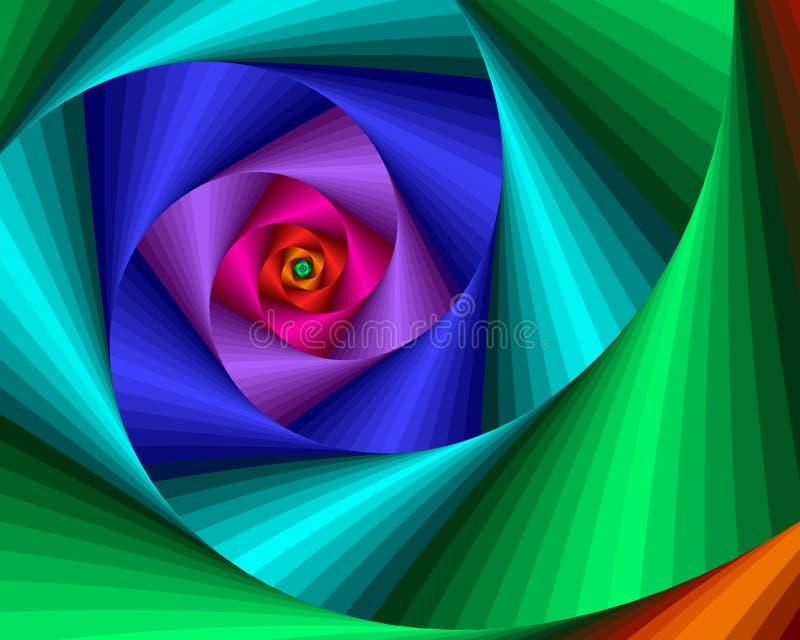 Punti del Rainbow illustrazione vettoriale