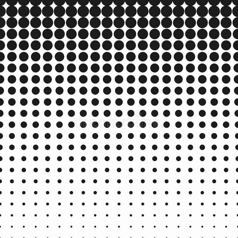Punti del semitono di vettore illustrazione di stock