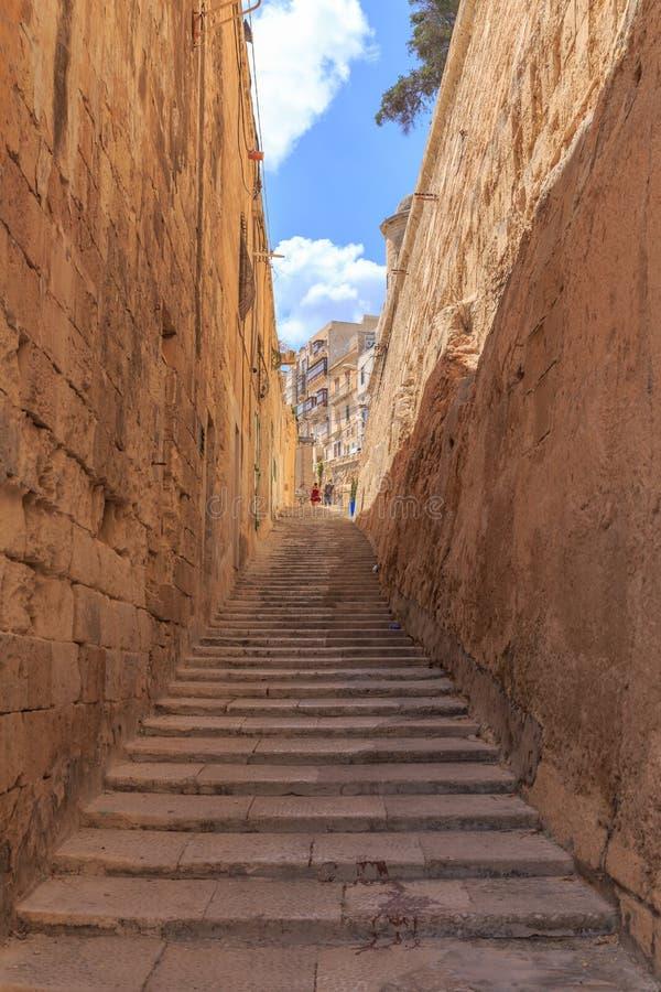 Punti della pietra di La Valletta fotografia stock libera da diritti