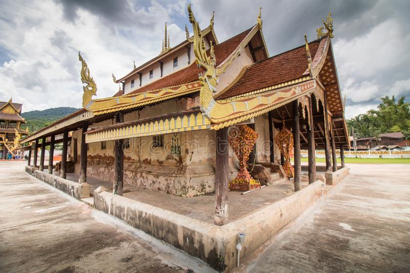Punti di riferimento Angkor Wat immagine stock libera da diritti