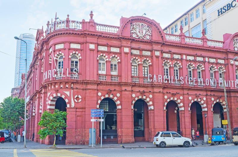 Punti di riferimento di Colombo fotografie stock libere da diritti