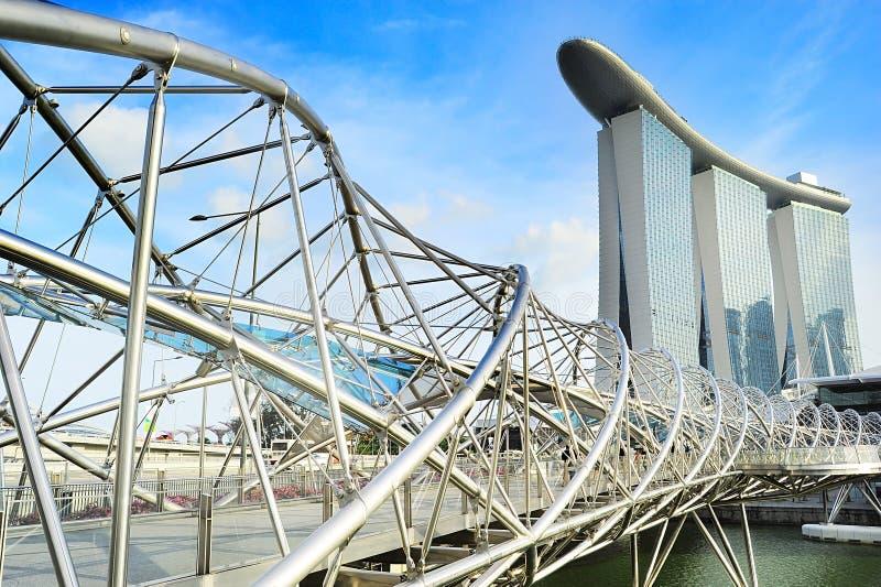 Punti di riferimento di Singapore immagine stock libera da diritti