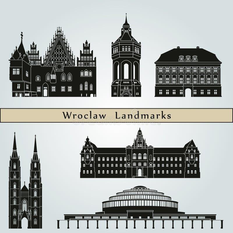 Download Punti Di Riferimento Di Wroclaw Illustrazione di Stock - Illustrazione di icona, corsa: 56890280