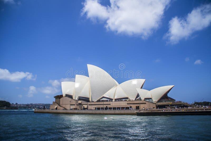 Punti di riferimento iconici della città di Sydney, Australia fotografie stock
