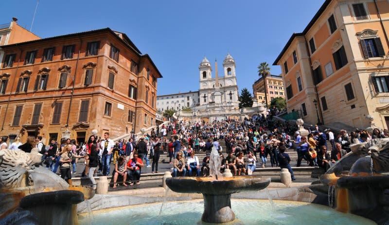 Punti spagnoli, Roma fotografie stock