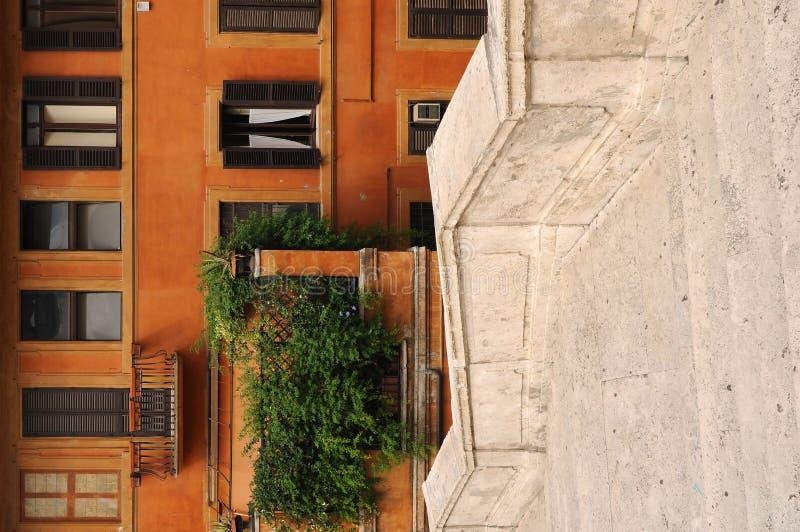 Punti spagnoli a Roma immagine stock libera da diritti