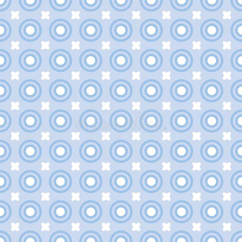 Puntini blu illustrazione vettoriale