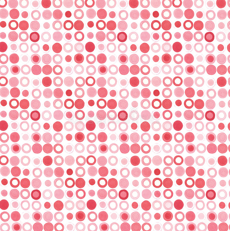 Puntini rosa-rosso immagini stock libere da diritti