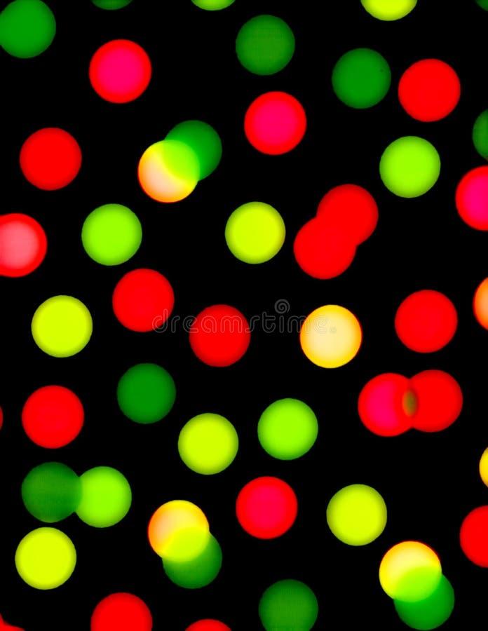 Puntini rossi e verdi sulla carta da parati nera for Carta da parati nera damascata