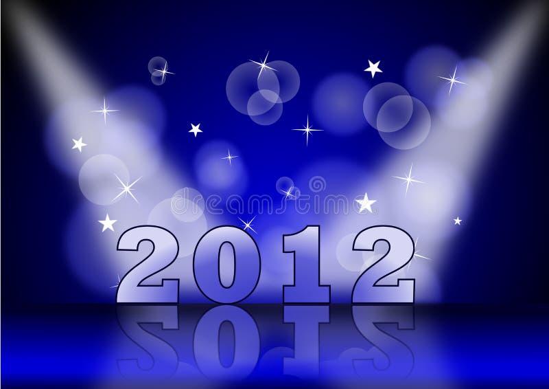 Punto 2012 stock de ilustración