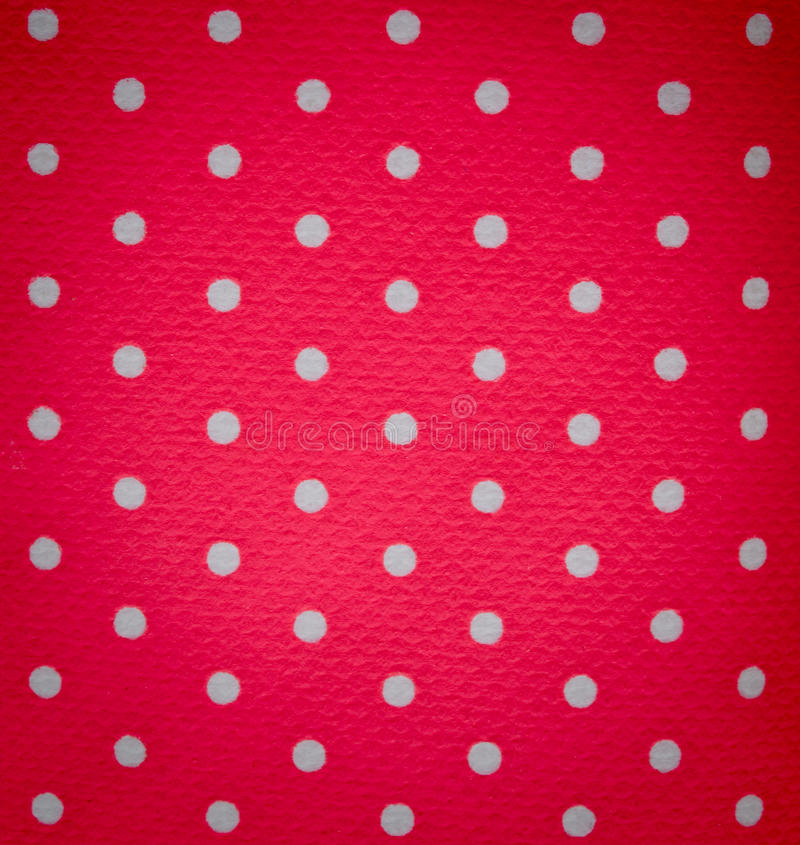Punto blanco en fondo rosado fotos de archivo