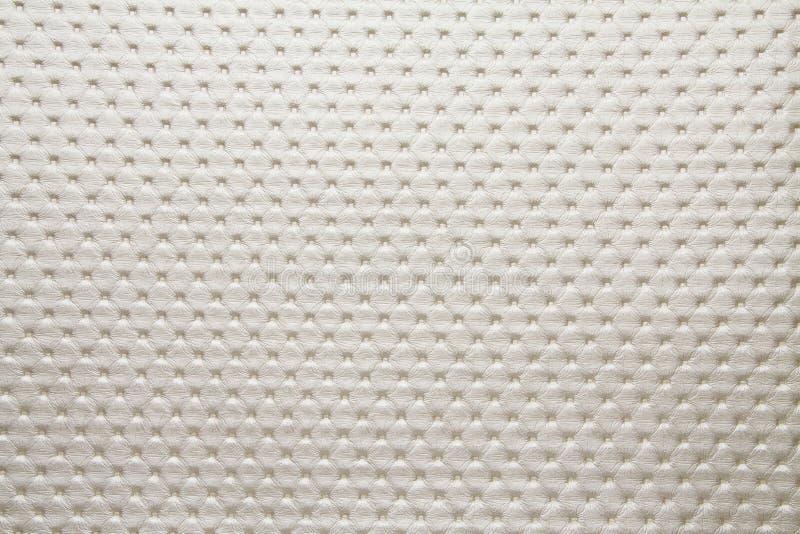 Punto 19652 claro - a cor cinzenta pontilhou a textura artificial da tela fotografia de stock royalty free