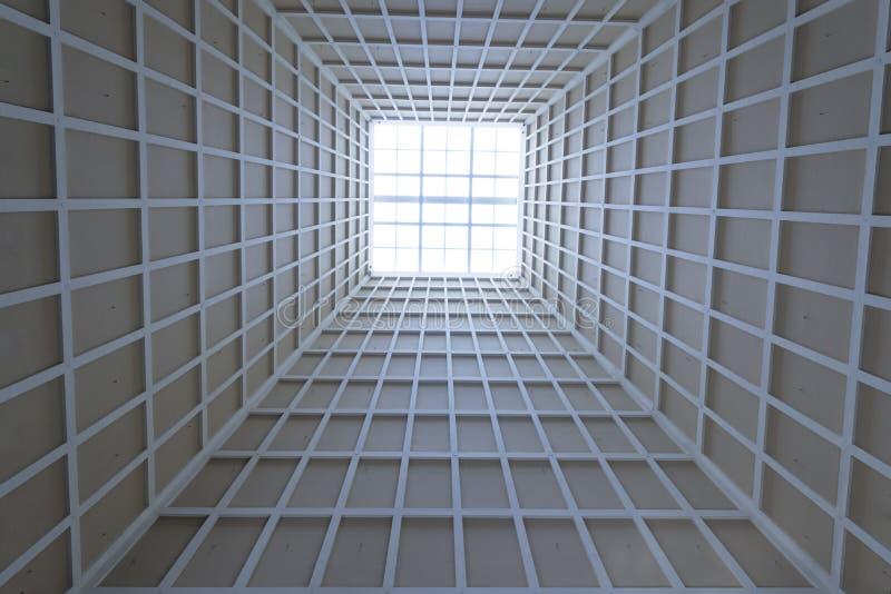 Punto culminante de la arquitectura del techo imagen de archivo
