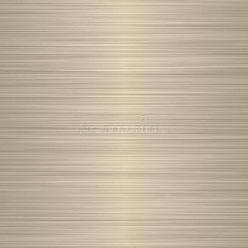 Punto culminante suave amarillento de plata aplicado con brocha stock de ilustración