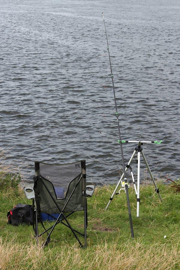 Punto de la pesca fotografía de archivo libre de regalías