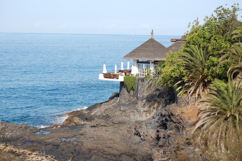 Punto de relajación en Tenerife foto de archivo libre de regalías