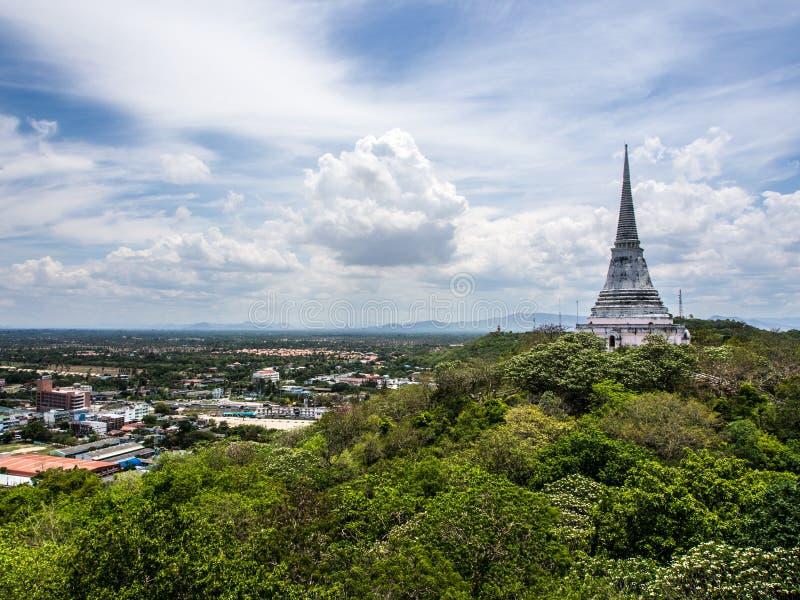 Punto de visión de Pranakornkiri (Kao Wang) foto de archivo