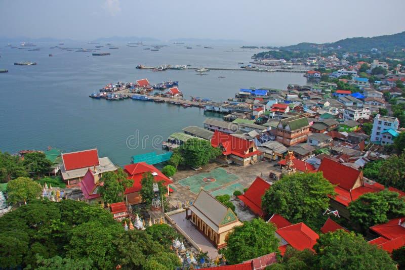Punto de vista de la isla de Srichang imágenes de archivo libres de regalías