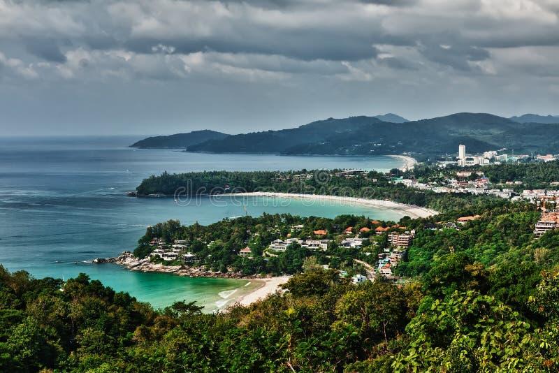 Punto de vista de Phuket foto de archivo libre de regalías