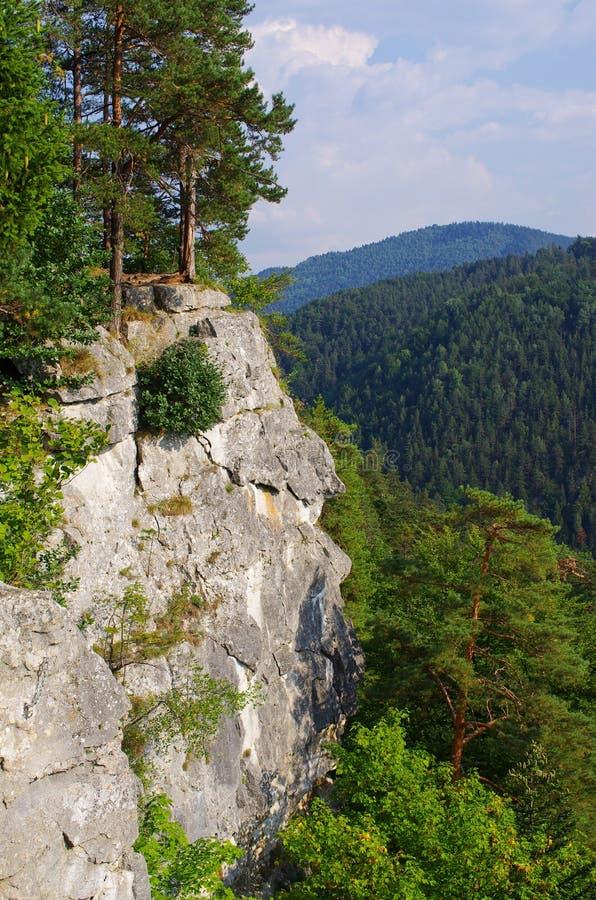 Punto de vista de Tomasovsky Vyhlad en paraíso eslovaco fotografía de archivo