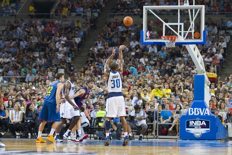 Punto del baloncesto imagen de archivo
