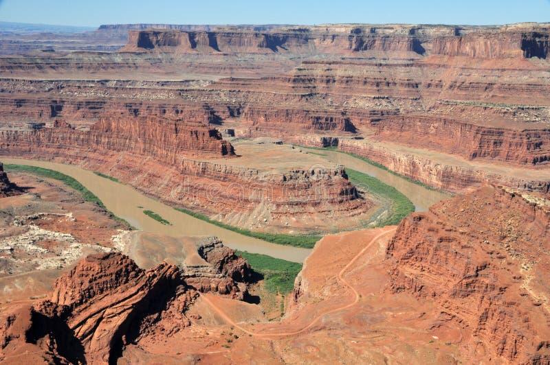 Punto del cavallo guasto - Utah immagini stock