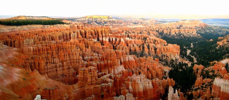 Punto di ispirazione di Bryce Canyon immagini stock libere da diritti