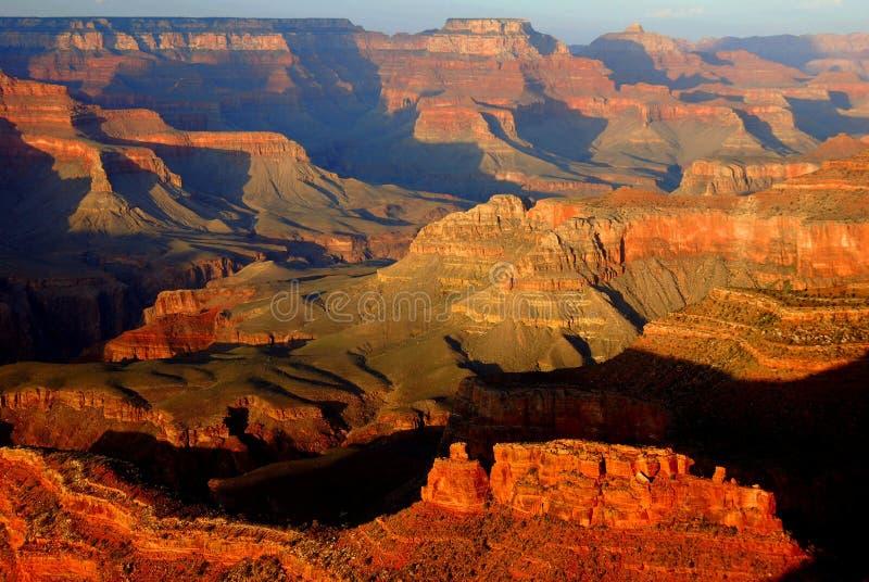 Punto di Mather, grande canyon fotografia stock libera da diritti