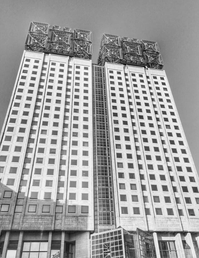 Punto di riferimento architettonico di Mosca, Russia immagine stock