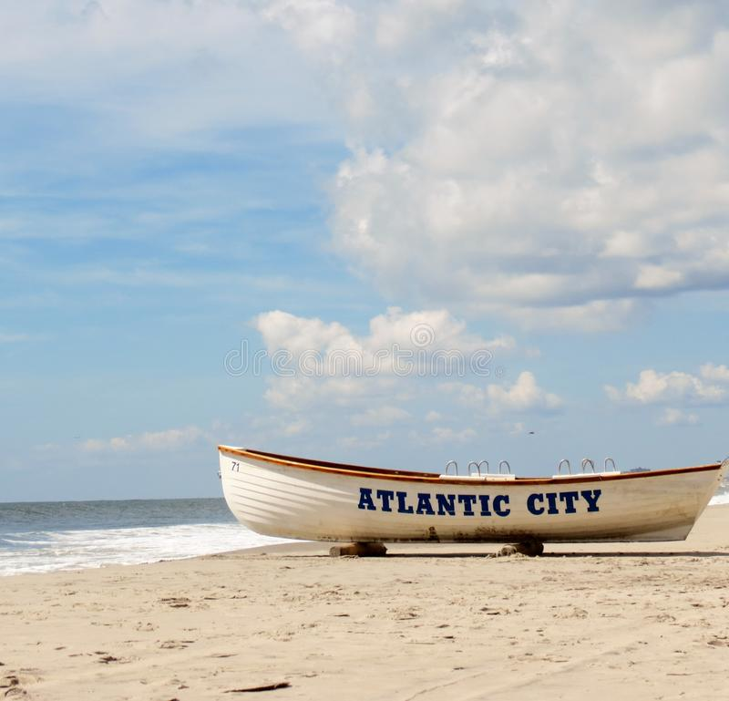 Punto di riferimento di Atlantic City fotografia stock